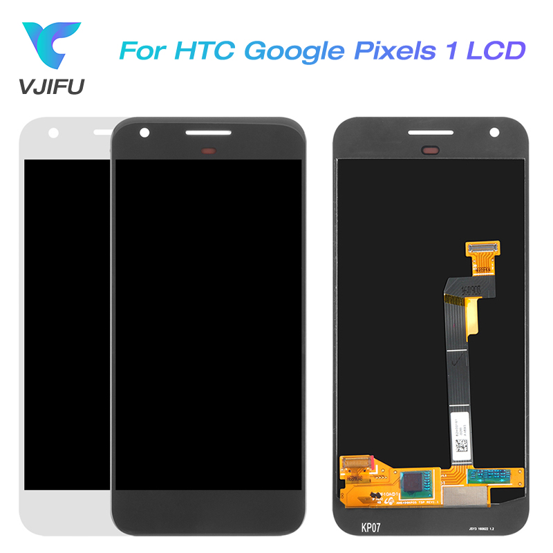 5.0 Display For HTC Google Pixel 1 Screens LCD Display For HTC Nexus S1 Touch Screen Google Pixel I Replacement Parts Tools