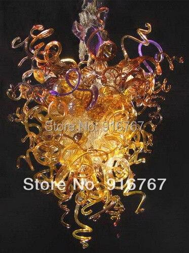 LR009 - Free Shipping Elegant Murano Crystal ChandelierLR009 - Free Shipping Elegant Murano Crystal Chandelier