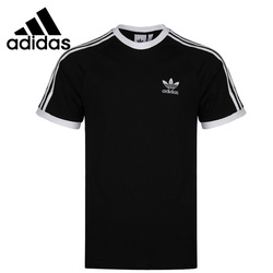 Original New Arrival Adidas Originals 3-STRIPES TEE Men's T-shirts shirt short sleeve Sportswear