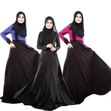 Fashion abaya islamic adult long clothing for nationality colorized women fashion women adult long dress