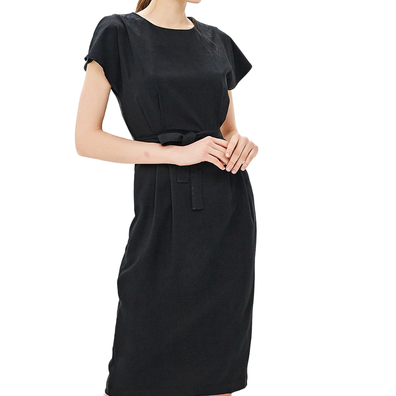 Dresses MODIS M181W00754 women dress cotton  clothes apparel casual for female TmallFS dresses befree 1731075511 woman dress cotton long sleeve women clothes apparel casual spring for female tmallfs