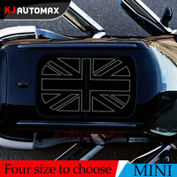 For Mini Cooper Roof Decal Perforated Vinyl Sticker Sunroof Black Jack R55 R56 R60 R61 F54