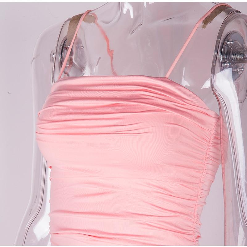HTB1TCGSXAH0gK0jSZFNq6xMqXXah - NewAsia 2 Layers White Summer Dress Women 2020 Elegant Straps Ruched Maxi Dress Pink Long Dress Sexy Dresses Party Night Robe
