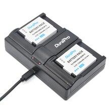 DuraPro USB Twin Channel Charger + 2PCS DMW-BCM13 batteries for Panasonic Lumix ZS40 TZ60 ZS45 / TZ57 ZS50 / TZ70 ZS27