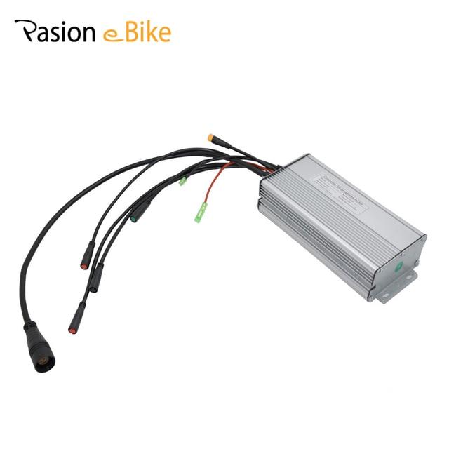 PASION E Электрический велосипед контроллеры 36 В и 48 В 750 Вт или 1500 Вт бесщеточный синусоида 35A контроллер для Sondors электровелосипедов