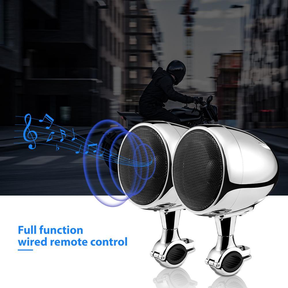 300W Orador Motocicleta 2 IP56 Guiador À Prova D' Água Do Bluetooth Sistema de Áudio Alto-falantes Estéreo Amplificador de Alta Performance SPK350