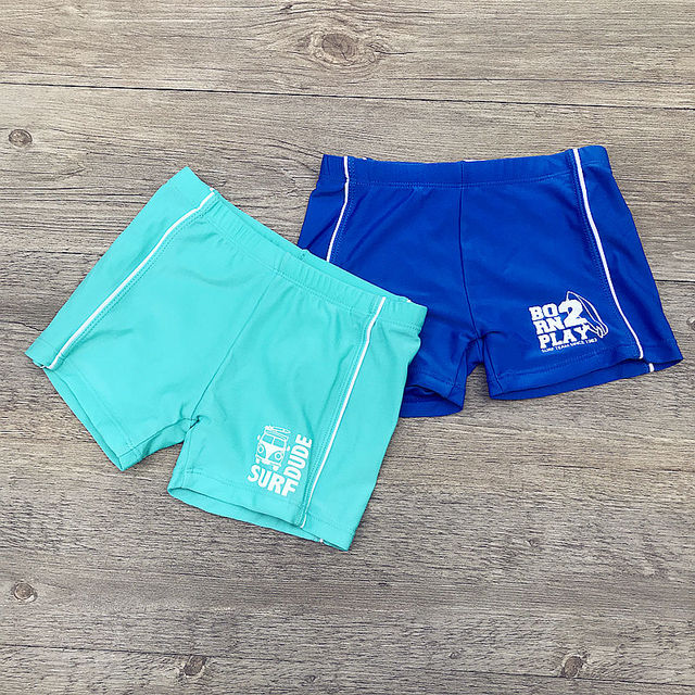 c0604886979 Boys Beach Wear Kids Shorts Swimming Trunks 2019 Children Swimsuits Boys Swimwear  Swim Print Bathing Clothes Bathing Suit A154