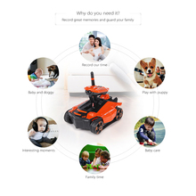 ATTOP Smart RC Tank YD-211 Wifi FPV 0.3MP Camera App Remote Control Spy Tank RC Toy Phone Controlled Robot Toys For Children