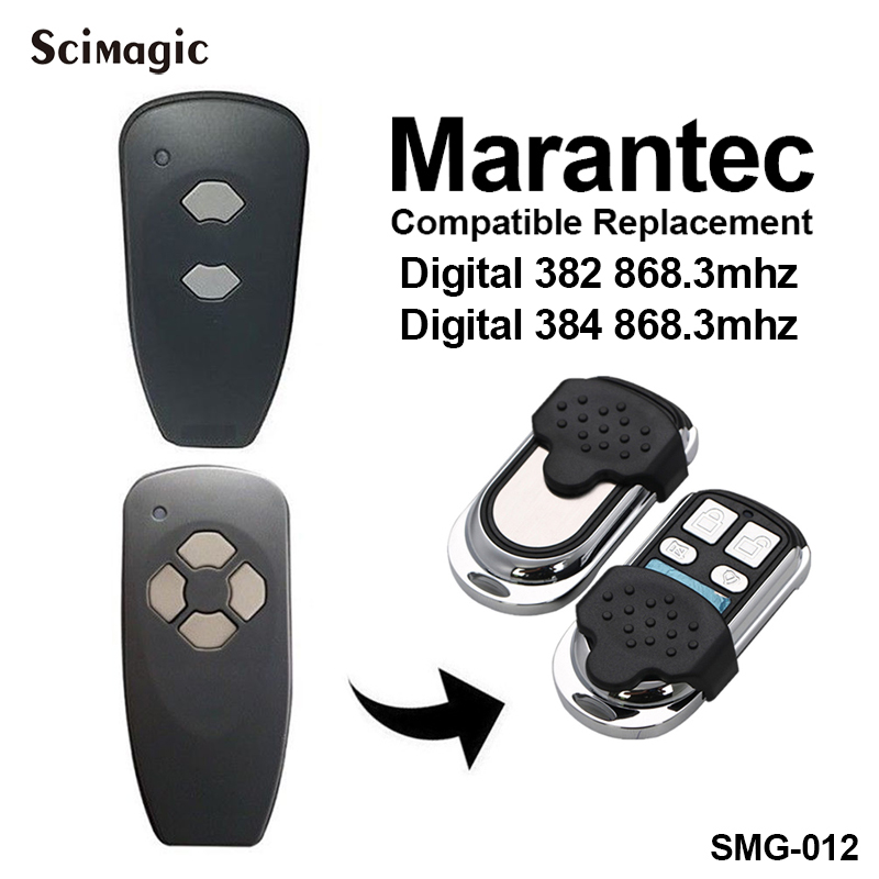 Marantec Digital 382 Digital 384 Replacement Remote Control Comaptible Marantec 868.3mhz Remote Control Electric Gate