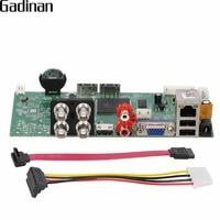 GADINAN AHD DVR 4CH Board 1080P AHDH TVI CVI XVI 5 In 1 ONVIF HDMI Output