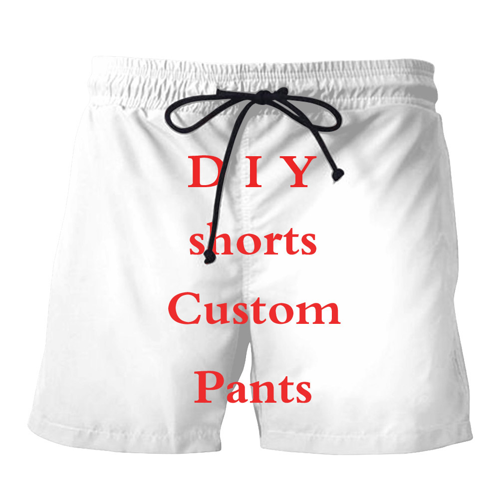 LIASOSO 3D Print DIY Custom Design Men/Women summer shorts Hip Hop Casual shorts Wholesalers Suppliers For Drop Shipping Y160