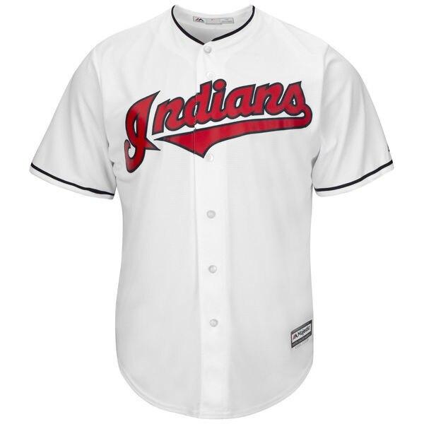 MLB Youth Cleveland Indians Baseball Navy Alternate Cool Base Jersey