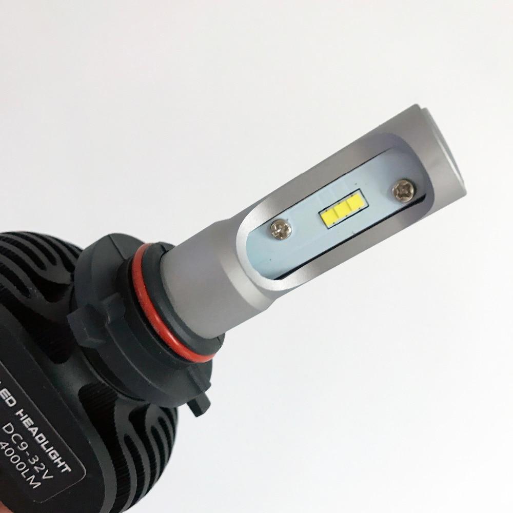 2pc 9005 avtomobil fənər lampaları HB3 Auto Led lampa 50W 6500K - Avtomobil işıqları - Fotoqrafiya 2