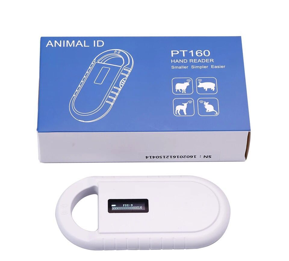 Scanner de puce d'animal familier d'affichage d'oled de lecteur de puce d'animal familier de FDX-B d'oin pour le chat de chien