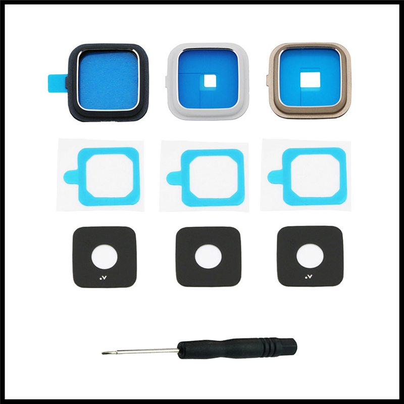For Samsung Galaxy Note 4 N910 N9100 N910F N910C N910G N910A/H/V/P Telephone Housing Back Camera Protective Glass Lens With Tool