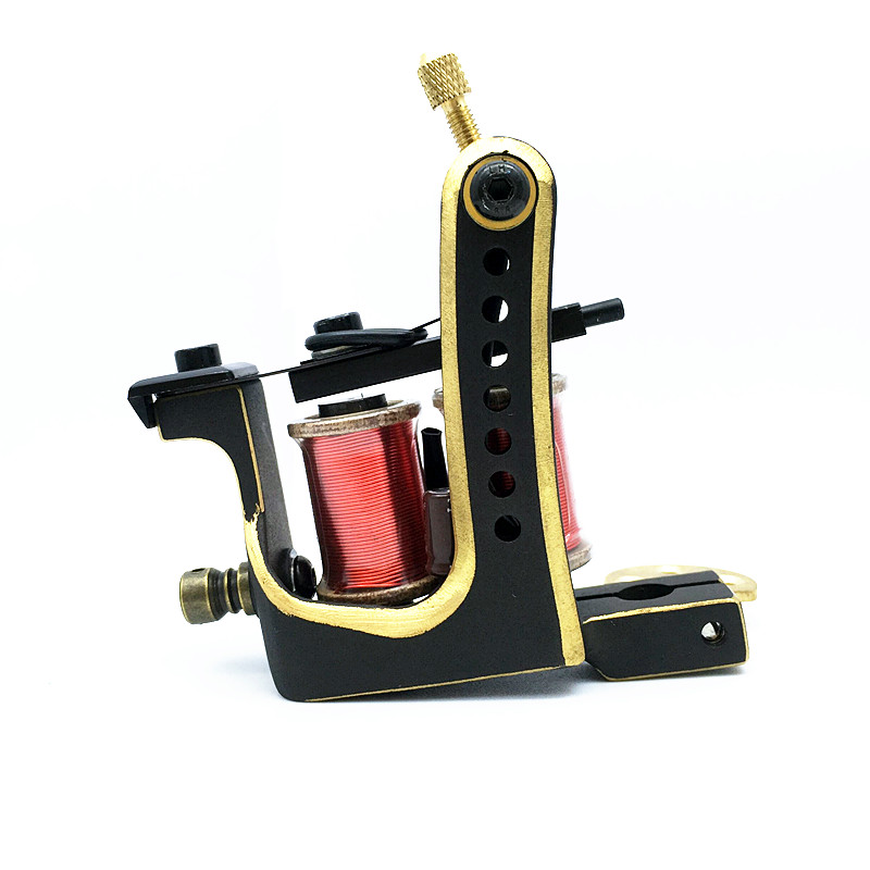 2018 Pro Copper Handmade Tattoo Machine Guns 12 Wrap Coils CNC Carving Tattoo Machine Shader&Liner Guns2018 Pro Copper Handmade Tattoo Machine Guns 12 Wrap Coils CNC Carving Tattoo Machine Shader&Liner Guns