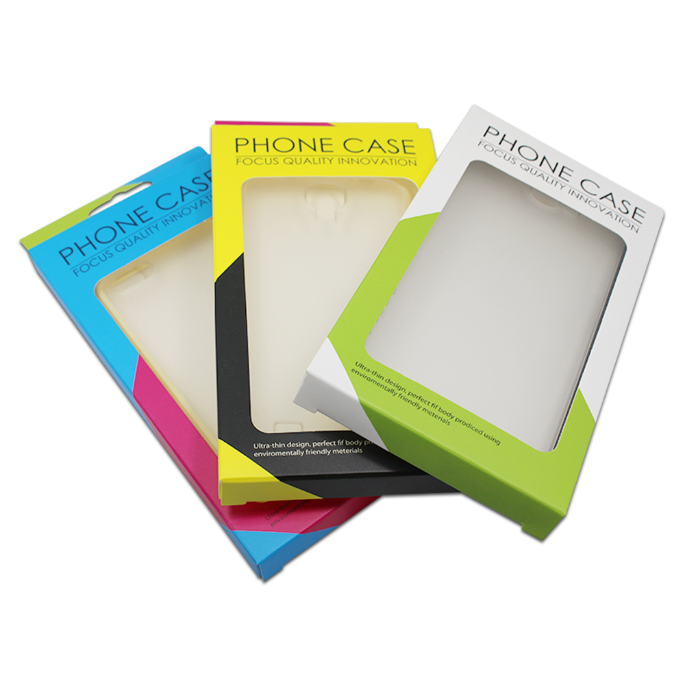 20Pcs/ Lot 9*16*1.5cm Event Paper Cell <font><b>Phone</b></font> <font><b>Case</b></font> Package Clear Window Pack <font><b>Box</b></font> Mobile <font><b>Phone</b></font> Shell <font><b>Packaging</b></font> <font><b>Box</b></font> With Hang Hole