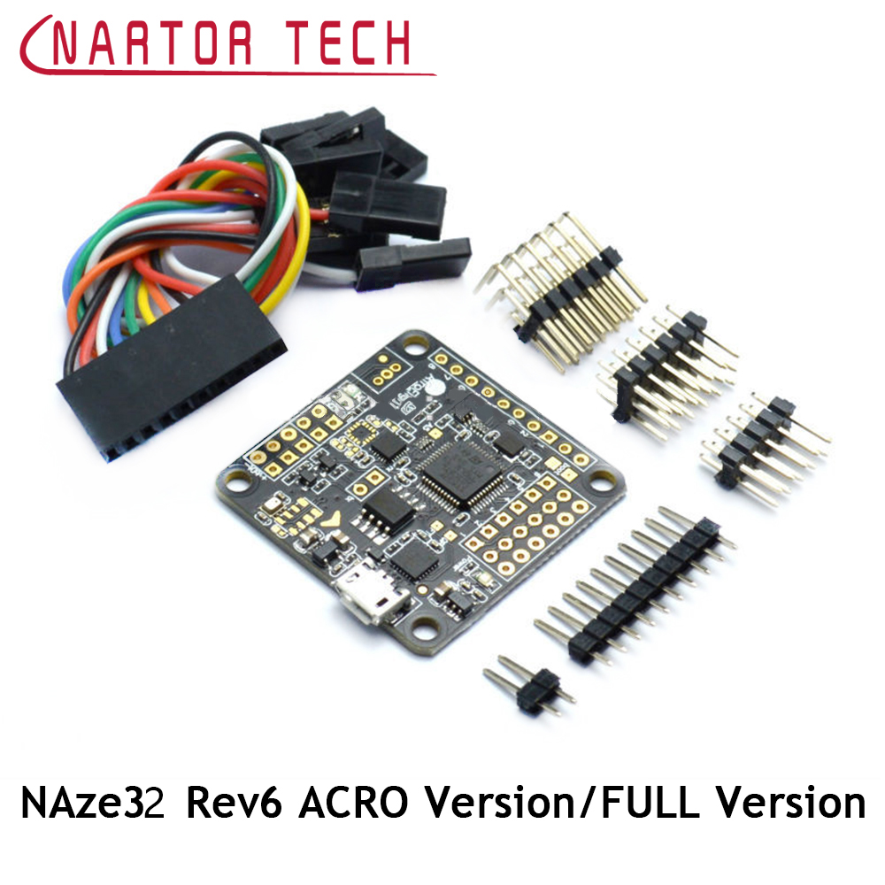 Nartor Naze32 Rev6 6DOF/10DOF/ARCO/FULL Version Flight Control Board Barometer & Compass For QAV250 Quadconpter FPV inav f3 deluxe flight control m8n gps set integrated barometer electronic compass set high fixed point