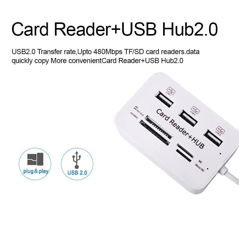 iMice USB HUB 3.0 Multi USB 3.0 HUB Splitter 3 portov čitalec kartic - Računalniška periferna oprema - Fotografija 3