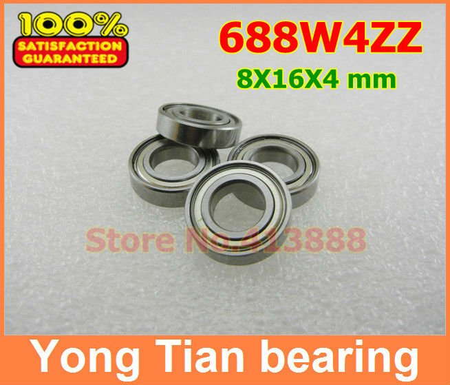 NBZH sale price High Quality 688A MR618/8 <font><b>688</b></font> OPEN 688K 688ZZW4 688W4 8*16*4 mm miniature deep groove ball bearing image