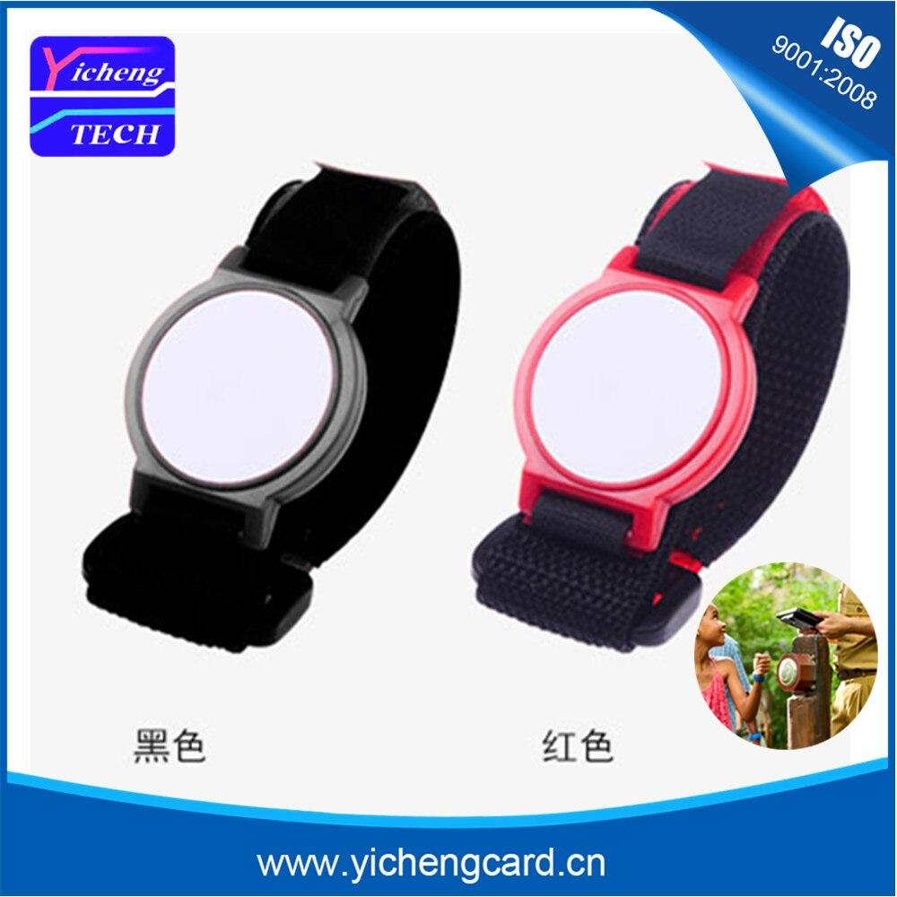 100 teile / los 13,56 MHz NFC ABS RFID Armband / Armband mit Fudan 1 - Schutz und Sicherheit - Foto 3