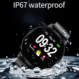 Image 4 - חכם צמיד N58 1.22 אינץ עגול מגע מסך כושר שעון מוסיקה נגן עם לב קצב ניטור לחץ דם זיהוי