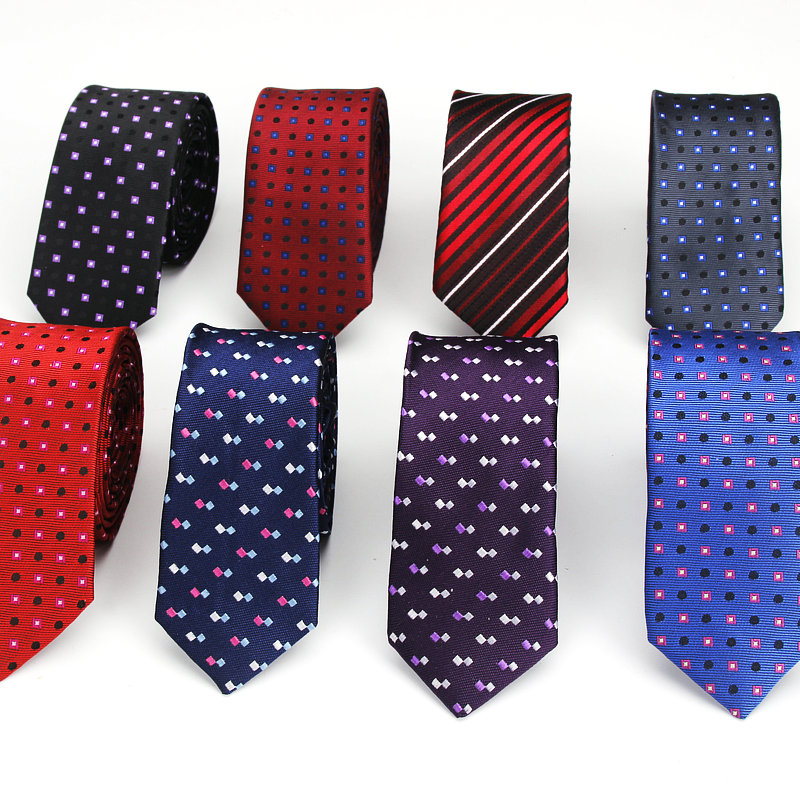 Brand New Men's Classic Plaid Ties For Men Necktie Suits Wedding Neck Tie For Business Cravats 5cm Pocket Square Necktie Sets