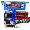 Mr.Froger Log Transporter Model alloy car model Refined metal Engineering Construction vehicles truck Decoration Classic Toys
