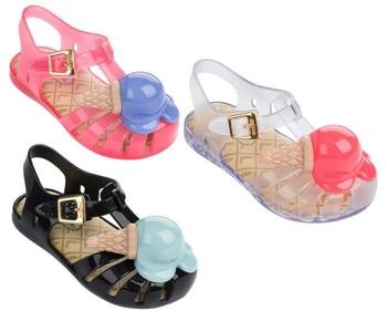 Дети сандалии прекрасный мини мелиссы сандалии комфортно