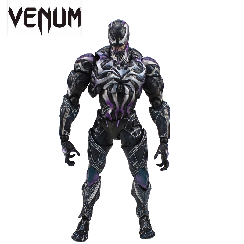 Free Shipping 10 PA KAI Marvel Universe Spiderman Venom Variant Boxed 26cm PVC Action Figure Collection Model Doll Toys Gift nuxe нежный гель для душа тюбик боди 200 мл