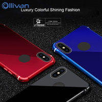 Phone Cases For Iphone X Case Hybrid Armor Aluminum Metal Case Cover For IPhone X Luxury