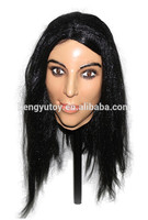 human size doll Lifelike display realistic adult female mask
