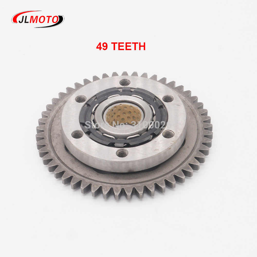 hight resolution of 300cc 49t 129mm starting clutch assy fit for jinling jla 931e feishen buyang fa