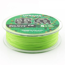 Seaknight 8 weaves super strong 100% PE Material Multifilament Braided Light Green Fishing Line 20-110LB