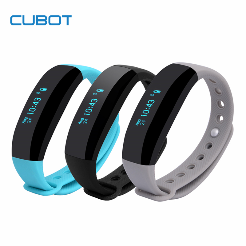 Cubot V2 Wristband Intelligent Reminder IP65 Waterproof Anti lost Alarm Sports Record Smart Wristband Band for