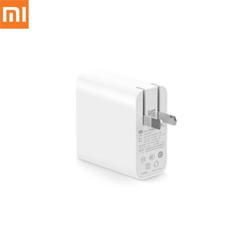 Original Xiaomi Power Adapter 65W Type C Quick Charger Mi Notebook Air 13 3 Power Adapter