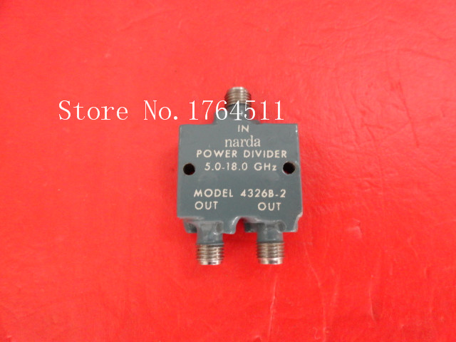 [BELLA] Narda 4326B-2 5-18GHz A Two Supply Power Divider SMA