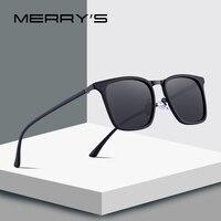 MERRYS дизайн Для мужчин квадратный поляризованных солнцезащитных очков для вождения Спорт на открытом воздухе Сверхлегкий серии UV400 защиты ...