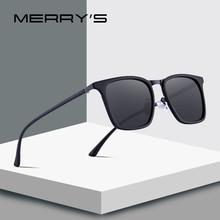MERRYS DESIGN Men Square Polarized Sunglasses For Driving Ou