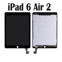 For Apple Ipad 6 / Air 2 lcd , A1567 A1566 9.7 New Full Lcd Display With Touch Screen Digitizer Panel Assembly Complete