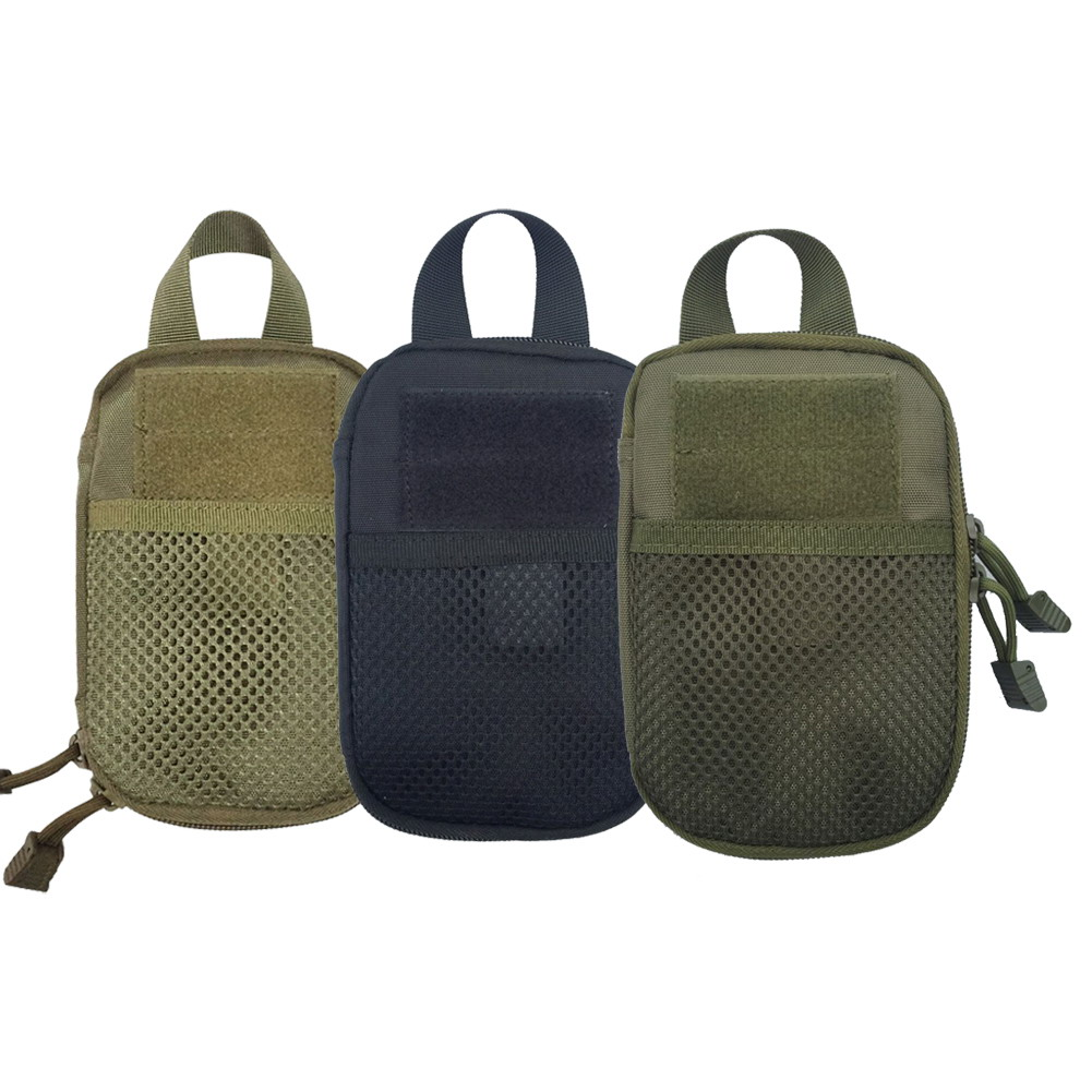 1000D Nylon Tactical Waist Bag Outdoor Hiking Hunting Wallet Pocket Handbag Pouch Pack Camping Accesorios 3 Colors
