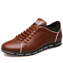 2016 New Luxury Brand Men Shoes England Trend Casual Leisure Shoes Leather Shoes Breathable For Male Footear Loafers Men's Flats