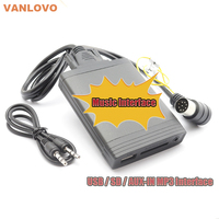 YATOUR Music Interface USB SD AUX IN MP3 Adapter for VOLVO C70 S40 S60 S80 V40 V70 XC70 HU series Radio Bluetooth Kit OPTIONAL