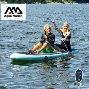 Image 2 - 370*82*15CM AQUA MARINA süper gezisi şişme sup ayakta kullanılan kürek kurulu şişme sörf tahtası sörf tahtası şişme kano kamera