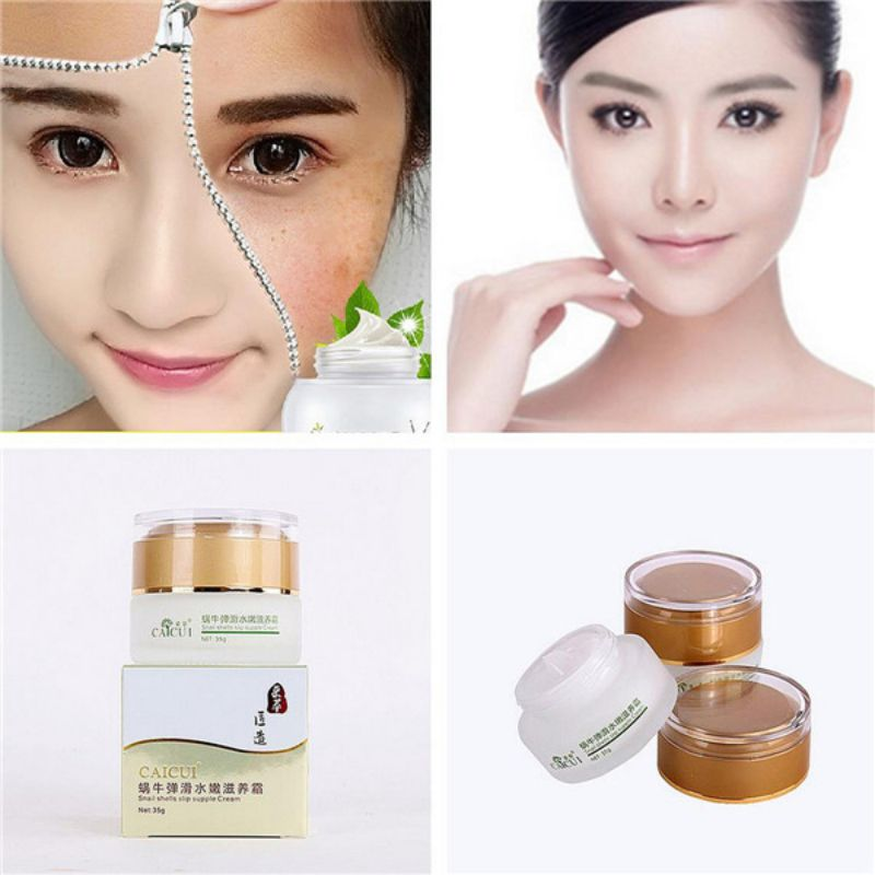 Elderly Skin Care: New Arrival Super Natural Snail Extract Cream Moisturizing