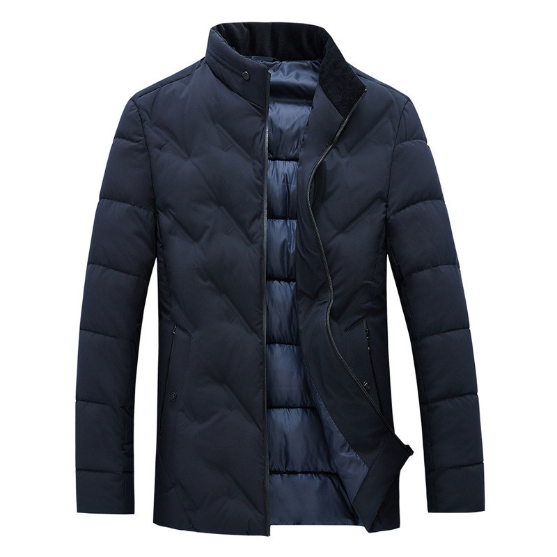 MRMT 2019 Brand New Winter Cotton Men's Jackets Short Thickened Down Feather Overcoat For Male Warmth Padded Jacket Clothing