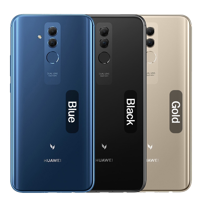 Huawei Mate 20 Lite Maimang 7 6GB 64GB Global Rom téléphone Mobile 6.3 pouces Kirin 710 Octa Core 9 V/2A Charge rapide Android 8.1 - 2