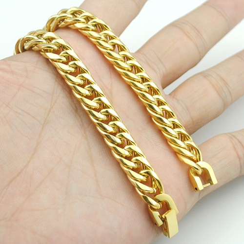 Boy's Men's Stainless Steel Link Chain Bracelet 16 Fashion Jewellery, Wholesale Free shipping, HB027 14