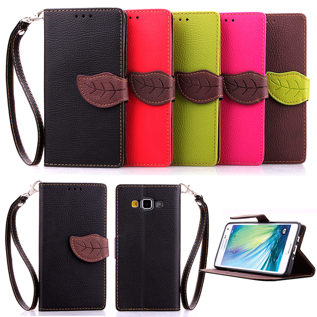 New High-grade leather + TPU wallet phone Cases For Samsung Galaxy A3 A300 SM-A300H Case cover