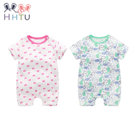 HHTU Cotton Baby Rompers Baby Clothing Boy Girl Romper Cute Jumpsuit Short Cloth For Newborn Infant